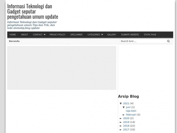 Cari-tengtang blogspot com SEO Issues, Traffic and