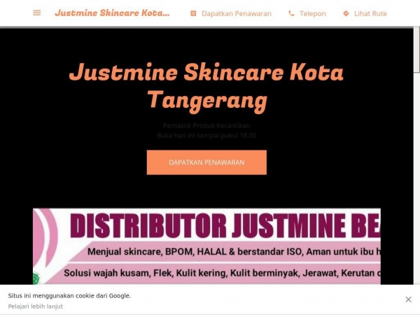 justmineskincarekotatangerang.business.site