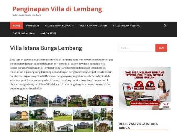 penginapanvilladilembang.com