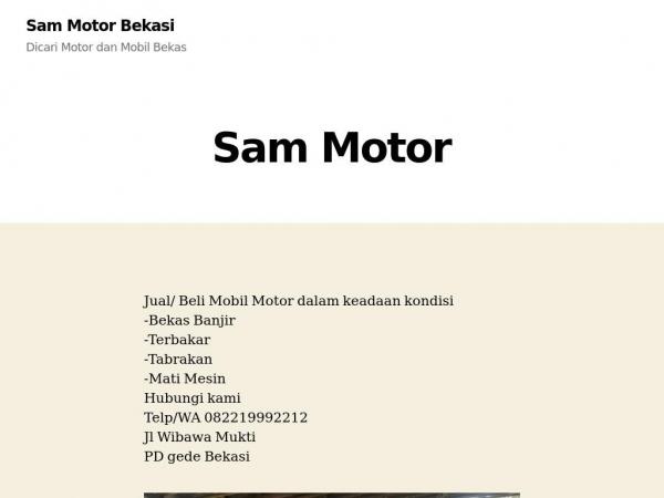 sammotorduaputra.com