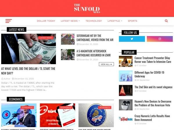 thesunfoldnews.com